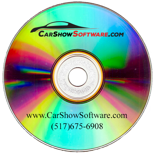 Car Show Software CD
