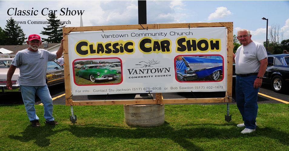 2015 Car Show Banner