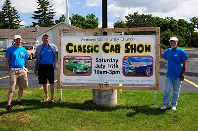 Vantown CarShow Banner
